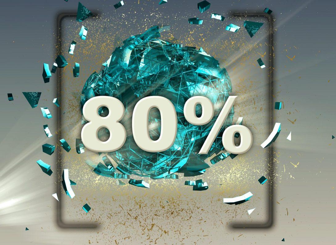 80 percent image