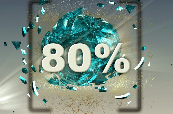 80% Graphic