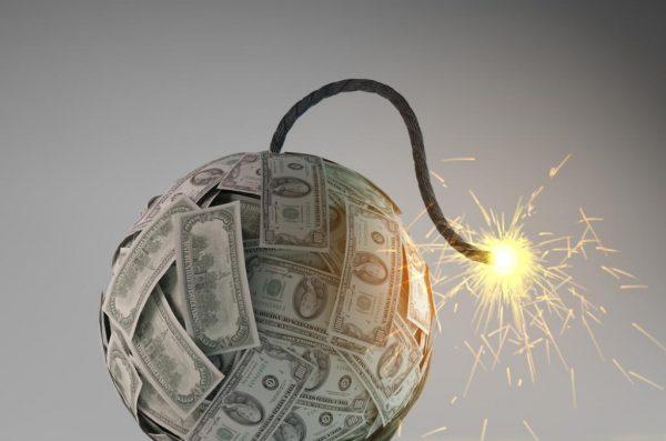Money Bomb Graphic