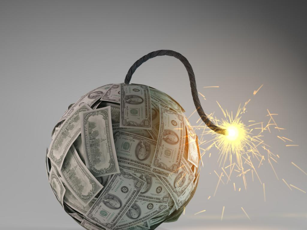 Money Bomb Graphic