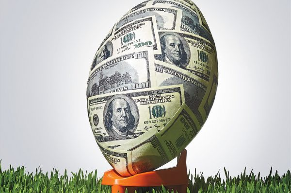 Money Football Graphic